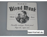 Beer Coaster Blond Munk / Must Nunn