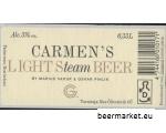 CARMEN'S LIGHT Steam BEER by Moe Brewery
