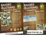 Raasiku Brewery flyer , two-sided
