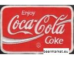 Coca Cola fabric emblem