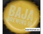 Mehhiko käsitöö õlle pudeli kork BAJA kollane