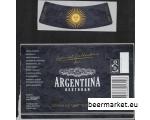 Õllepudeli silt ARGENTIINA RESTORAN