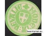 Nõukogude aegne õllekannu alus REVAL MONETA BAAR roheline
