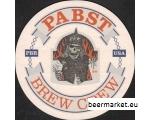 USA Õlle kruusi alus PABST BREW CREW